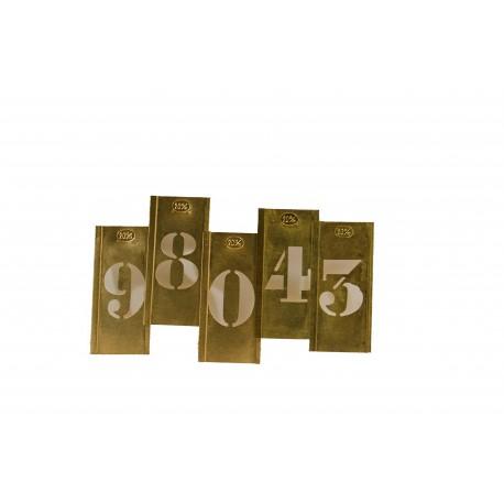 ENSEMBLE 3 JEUX DE 10 CHIFFRES CAPITALE 20 MM