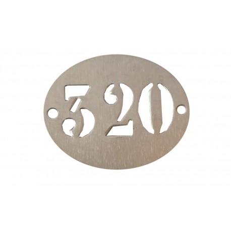 Lot de 100 plaquettes en aluminium 27 x 22 mm, avec 2 trous